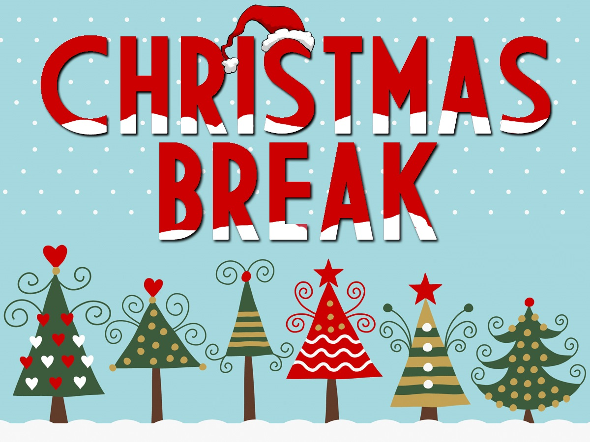 This is the image for the news article titled Christmas Break